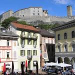 Bellinzona, Ticino, Suíça. Autore e Copyright Marco Ramerini..