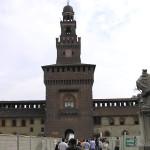 Castello Sforzesco, Milão, Itália. Autore e Copyright Marco Ramerini