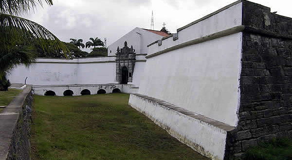 Forte do Brum, Recife, Pernambuco, Brasil. Author and Copyright Marco Ramerini