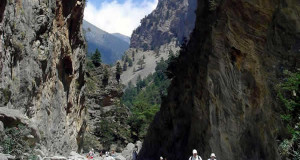 O desfiladeiro de Samaria: o cânion da ilha de Creta