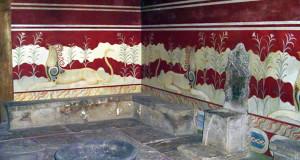 Cnossos: o mais importante sítio arqueológico na ilha de Creta