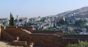 Granada, Andaluzia, Espanha. Author and Copyright Liliana Ramerini .