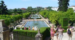 Jardines del Alcázar, Cordoba, Andaluzia, Espanha. Author and Copyright Liliana Ramerini
