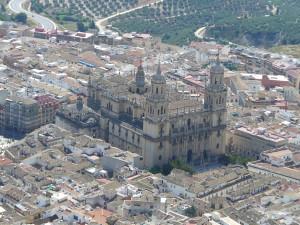 A catedral de Jaén, Andaluzia, Espanha. Author and Copyright Liliana Ramerini