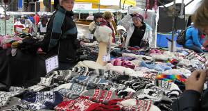 Mercado de Bergen, Noruega. Autor e Copyright Marco Ramerini