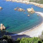 Cala Tinnari, Sardenha, Itália. Author and Copyright Marco Ramerini