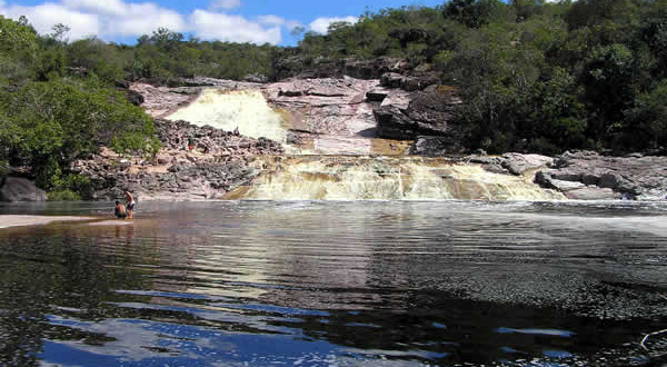 Cachoeira do rio Roncador, Marimbus Pantanal, Chapada Diamantina, Bahia, Brasil. Author and Copyright Marco Ramerini