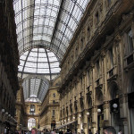 Galleria Vittorio Emanuele II, Milão, Itália. Autore e Copyright Marco Ramerini
