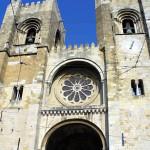 A catedral de Lisboa, Portugal. Autore e Copyright Liliana Ramerini