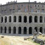 Teatro Marcello, Roma, Itália. Author and Copyright Marco Ramerini