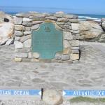 Cabo Agulhas, África do Sul. Autor e Copyright Marco Ramerini