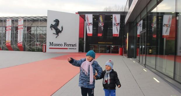 Museu Ferrari, Maranello. Autor e Copyright Marco Ramerini