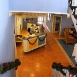 A recepção, Cape Santa Maria Beach Resort, Long Island, Bahamas. Autor e Copyright Marco Ramerini