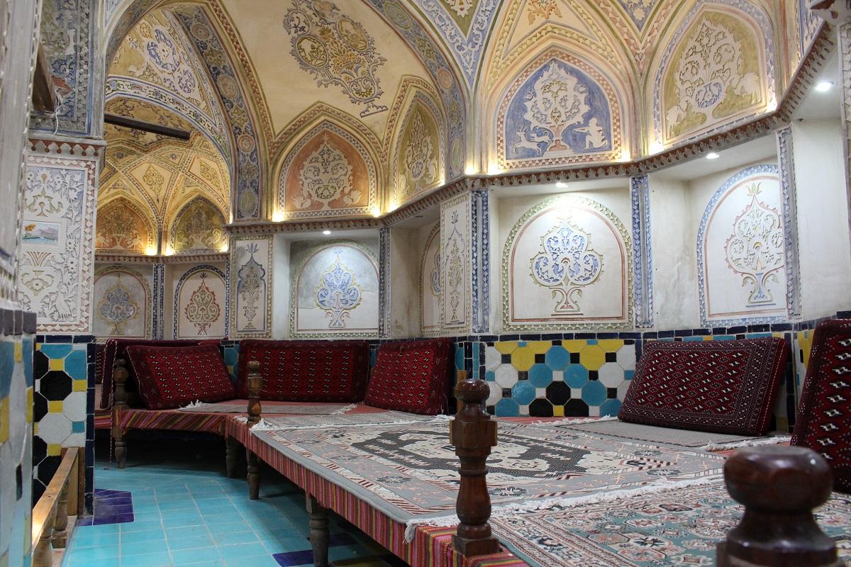 Banho público do Sultan Amir Ahmad, Kashan, Irã. Autor e Copyright Marco Ramerini.