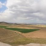 Paisagem da fortaleza de Tall-e Takht, Pasárgada, Irã. Autor e Copyright Marco Ramerini