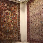 Tapetes, Museu do Tapete do Irã, Teerã, Irã. Autor e Copyright Marco Ramerini