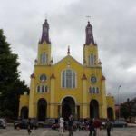 Igreja de San Francisco, Castro, Isla Chiloe, Chile. Autor e Copyright Marco Ramerini