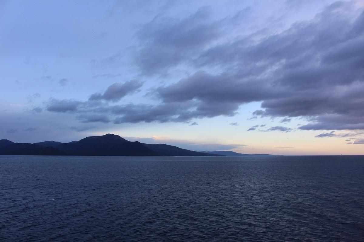 Estreito de Magalhães, Punta Arenas, Chile. Autor e Copyright Marco Ramerini