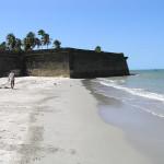 A praia do Forte Orange, Itamaracá, Pernambuco, Brasil. Author and Copyright Marco Ramerini