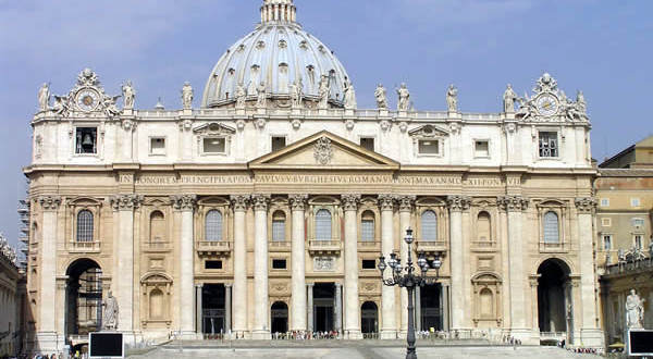 Basílica de São Pedro, Roma, Itália. Autore e Copyright Marco Ramerini