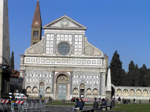 Basilica di Santa Maria Novella, Florença, Toscana, Itália. Author and Copyright Marco Ramerini