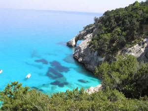 Cala Goloritzè, Sardenha, Itália. Autore e Copyright Marco Ramerini