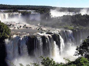 Cataratas do Iguaçu, Brasil-Argentina. Author and Copyright Marco Ramerini.