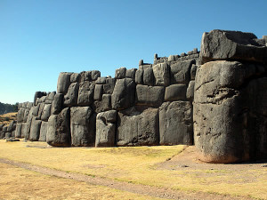 Fortaleza inca de Sacsayhuamán, Cuzco, Peru. Author and Copyright Nello and Nadia Lubrina