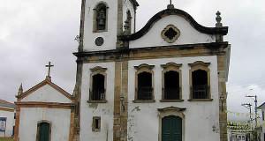 Igreja de Santa Rita, Paraty, Rio de Janeiro. Author and copyright Marco Ramerini