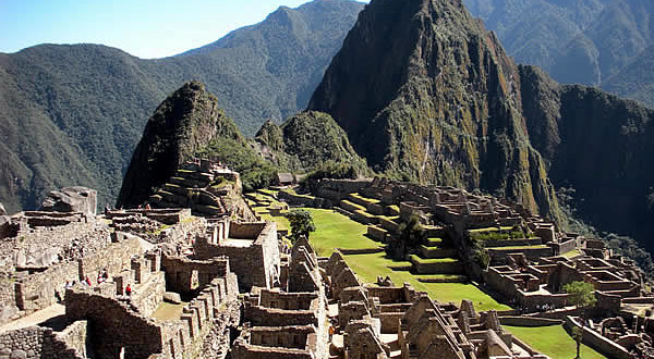 Machu Picchu, Peru. Author and Copyright Nello and Nadia Lubrina