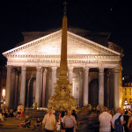 Pantheon, Roma, Itália. Author and Copyright Marco Ramerini