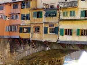 Ponte Vecchio, Florença, Toscana, Itália. Author and Copyright Marco Ramerini