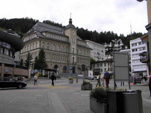 St. Moritz, Grisões, Suíça. Autore e Copyright Marco Ramerini