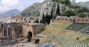 Teatro, Taormina, Sicília, Itália. Autore e Copyright Marco Ramerini