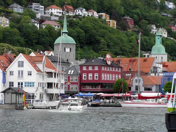 Bergen, Noruega. Autor e Copyright Marco Ramerini