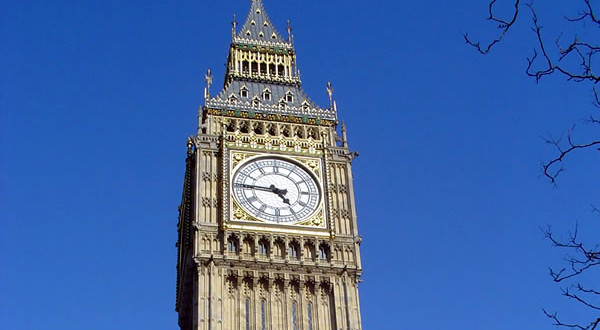 Big Ben, Londres, Reino Unido. Autor e Copyright Marco Ramerini