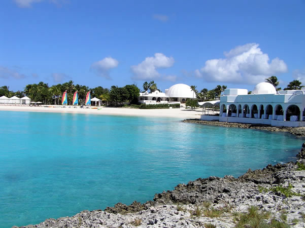Cap Juluca Hotel, Maunday's Bay, Anguilla. Author and Copyright Marco Ramerini