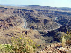 Fish River Canyon, Namíbia. Author and Copyright Marco Ramerini