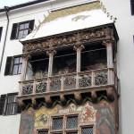 O Telhado Dourado, Innsbruck, Tirol, Áustria. Autor e Copyright Liliana Ramerini