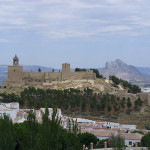 Alcazaba, Antequera, Andaluzia, Espanha. Author and Copyright Liliana Ramerini