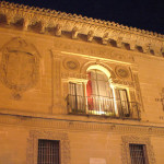 Ayuntamiento, Baeza, Andaluzia, Espanha. Author and Copyright Liliana Ramerini