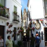Calleja de las flores, Cordoba, Andaluzia, Espanha. Author and Copyright Liliana Ramerini