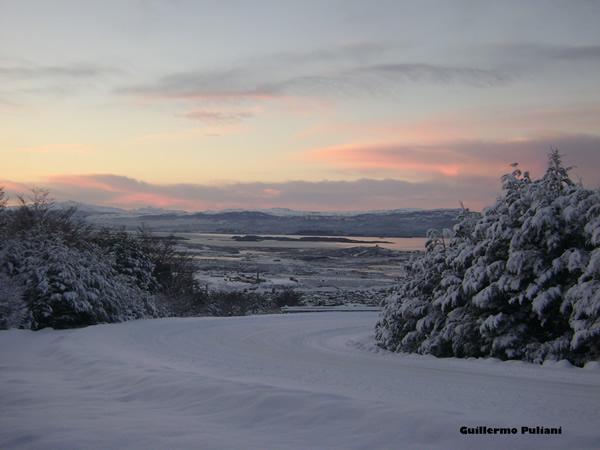 Camino Martial, Tierra del Fuego, Argentina. Autor e Copyright Guillermo Puliani