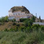 Casa na rocha, Guadix, Andaluzia, Espanha. Author and Copyright Liliana Ramerini