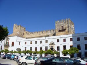 Castillo de Arcos, Arcos de la Frontera, Andaluzia, Espanha. Author and Copyright Liliana Ramerini