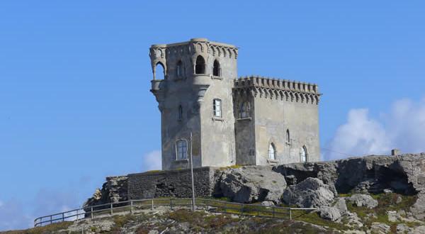 Castillo de Santa Catalina, Tarifa, Costa de la Luz, Andaluzia, Espanha. Author and Copyright Liliana Ramerini