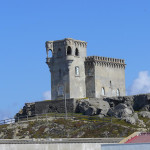 Castillo de Santa Catalina, Tarifa, Costa de laLuz, Andaluzia, Espanha. Author and Copyright Liliana Ramerini