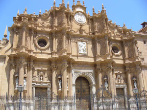 Catedral de Guadix, Andaluzia, Espanha. Author and Copyright Liliana Ramerini