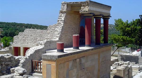 Cnossos, Creta, Grécia. Autor e Copyright Luca di Lalla