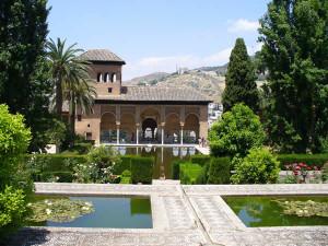 El Partal, Alhambra, Granada, Andaluzia, Espanha.. Author and Copyright Liliana Ramerini